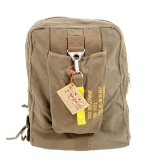 Vintage Canvas Flight Pack