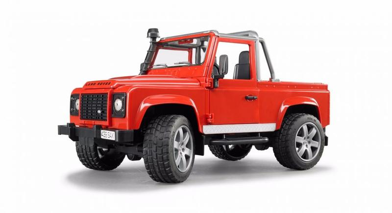 DEFENDER PICK UP - RED