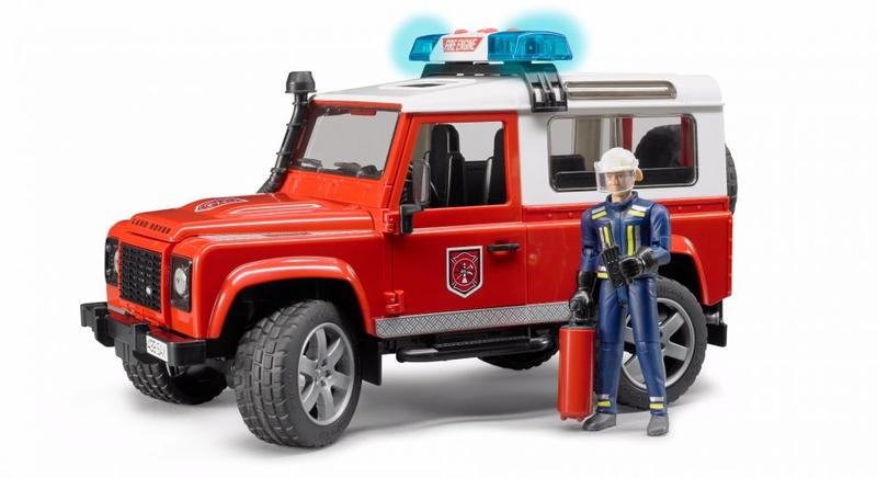 DEFENDER FIRE DEPARTMENT VEHICLE