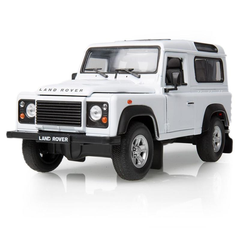 DEFENDER PRE 2000 SCALE MODEL 1:24 - WHITE
