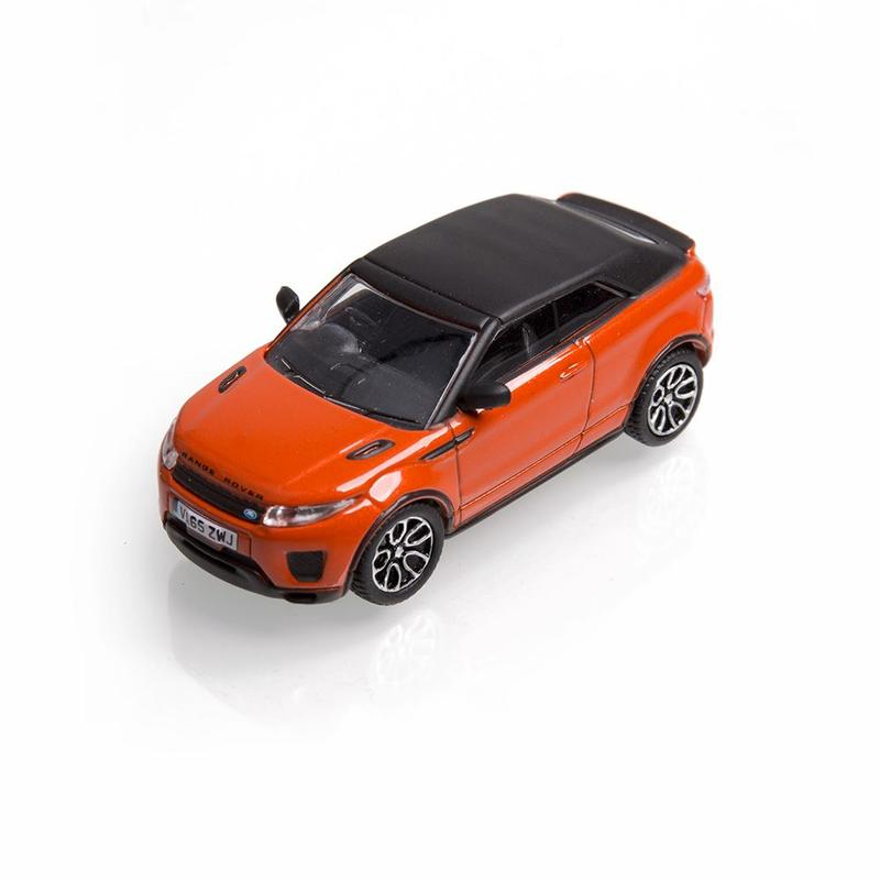 RANGE ROVER EVOQUE CONVERTIBLE 1:76 SCALE MODEL