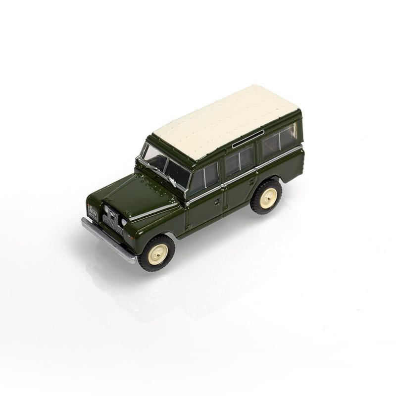 LAND ROVER SERIES II 1:76 SCALE MODEL