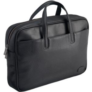Executive Leather Briefcase - Black