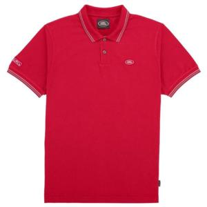 Mens Land Rover Polo Shirt Red