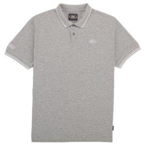 Mens Land Rover Polo Shirt Grey
