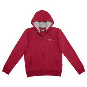 Mens Land Rover Hoodie  Red