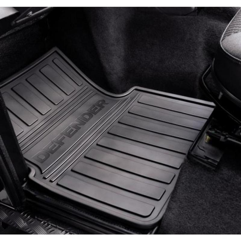 Defender 2007 onwards Rubber Mat Set