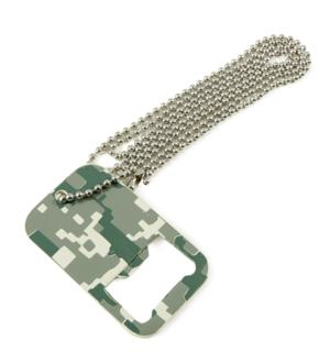 Dog Tag Bottle Opener - BOP0368