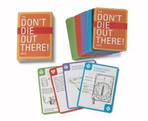 Don't Die Out There Deck Of Playing Cards - CAR4