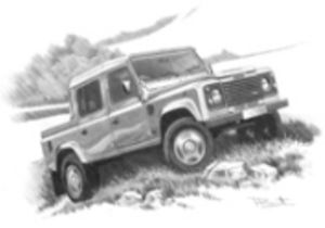 Defender 110 double cab  '91-'07