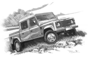 Defender 130 double cab  '91-'07