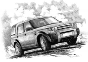 Discovery 3  '04-'09 (light shading)