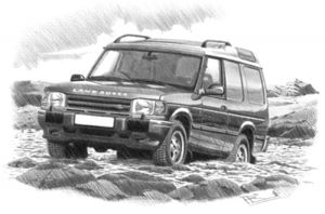 Discovery 300 Series  3 door Commercial '94 - '9