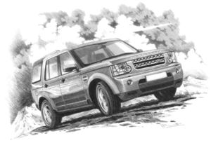Discovery 4  XS/HSE  '09 - (light shading)
