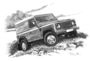 Defender 90 (basic trim) '07-