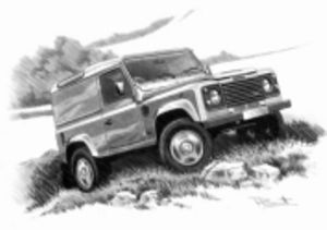 Defender 90 County HT  '91-'07