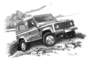 Defender 90 Station Wagon  '07-