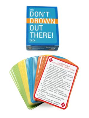 Don't Drown Out There Deck of Cards - CAR0150