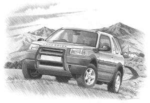 Freelander 1 3 door + bullbar  '98 -'04