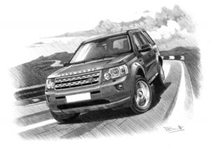 Freelander 2 11MY Dark shading