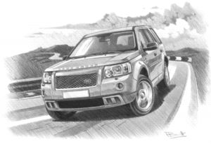 Freelander 2 HST '08 - '10 (Light)