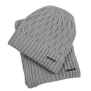 Unisex  Hat and Scarf Set