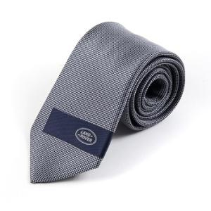Blue and silver Land Rover Tie - LR324