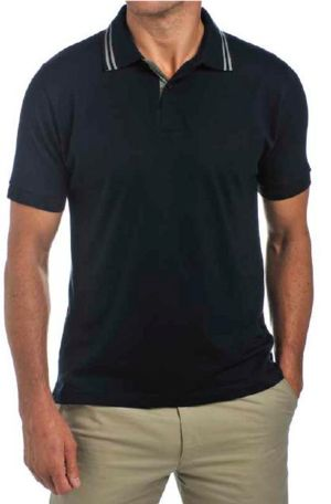 Classic navy Men's Polo Shirt - LRSS12PS3