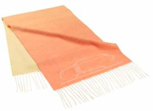 Range Rover Cashmere Scarf - Orange
