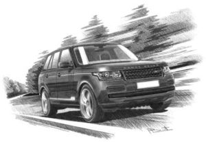 Range Rover series 4 Vogue '13 with dark shading