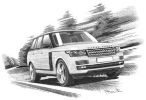 Range Rover series 4 Autobiography + Dark Atlas