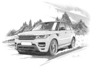 Range Rover Sport series 2 '13- Light