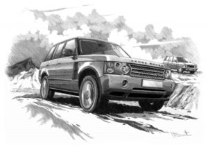 Range Rover  supercharged '05-'09