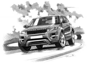 Range Rover Evoque Dynamic 5 door