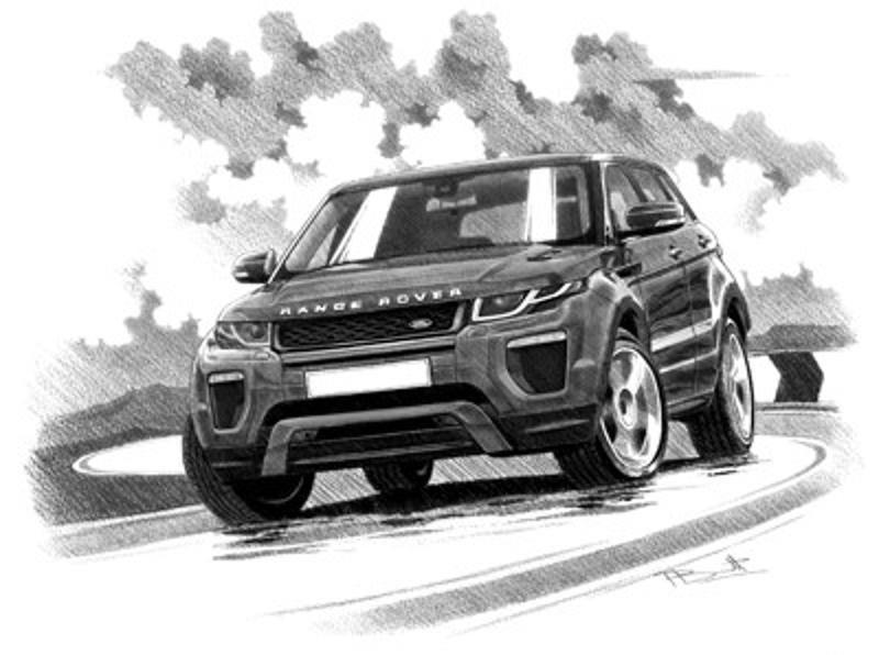 Range Rover Evoque HSE 5 door