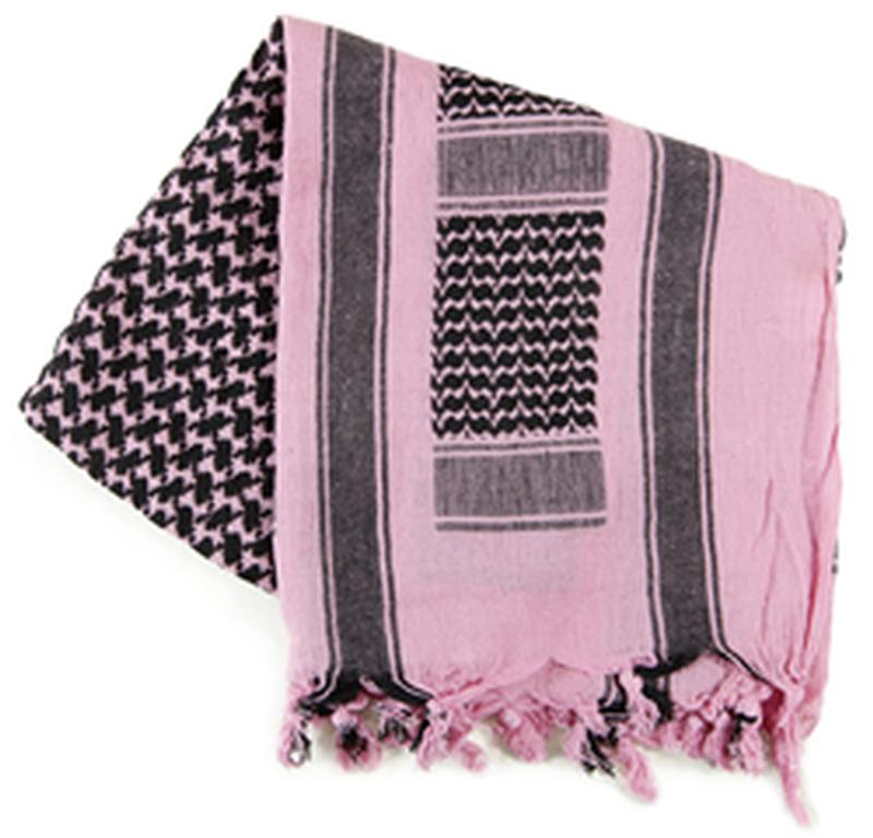 SHEMAGH PINK & BLACK