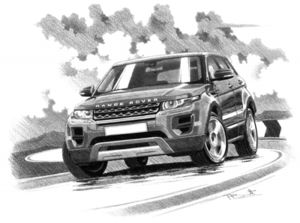Range Rover Evoque Pure 5 door