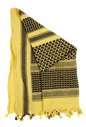 Shemagh Yellow & Black