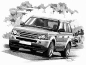 Range Rover Sport '05-'09 (light shading)