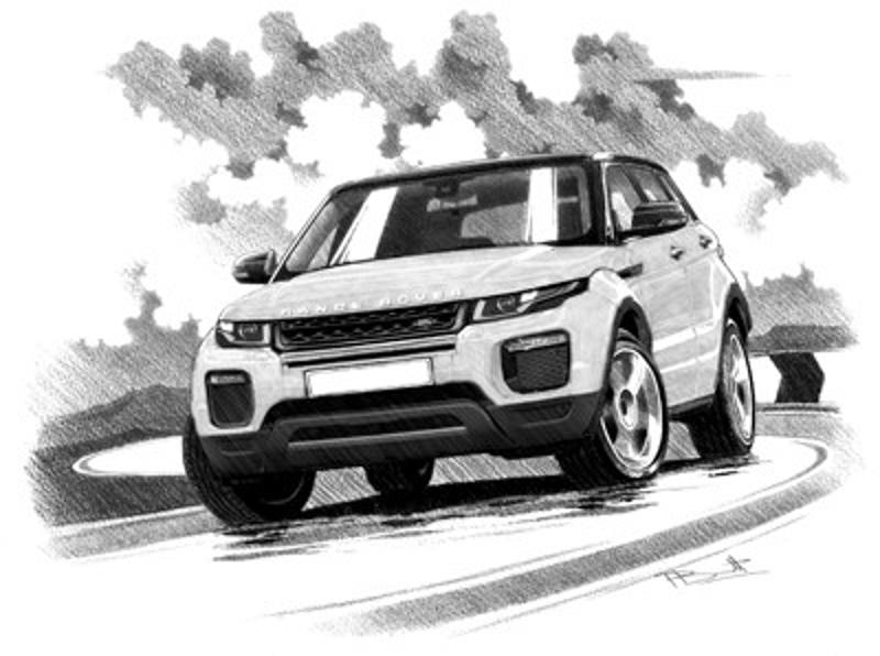 RANGE ROVER EVOQUE SE TECH 5 door
