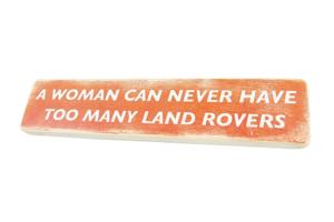 Wooden Sign - Woman's SIG0319