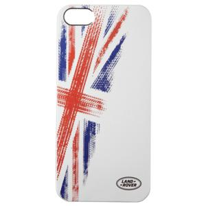 Union Flag iPhone 5 Case Silver - LRCAAUJ5