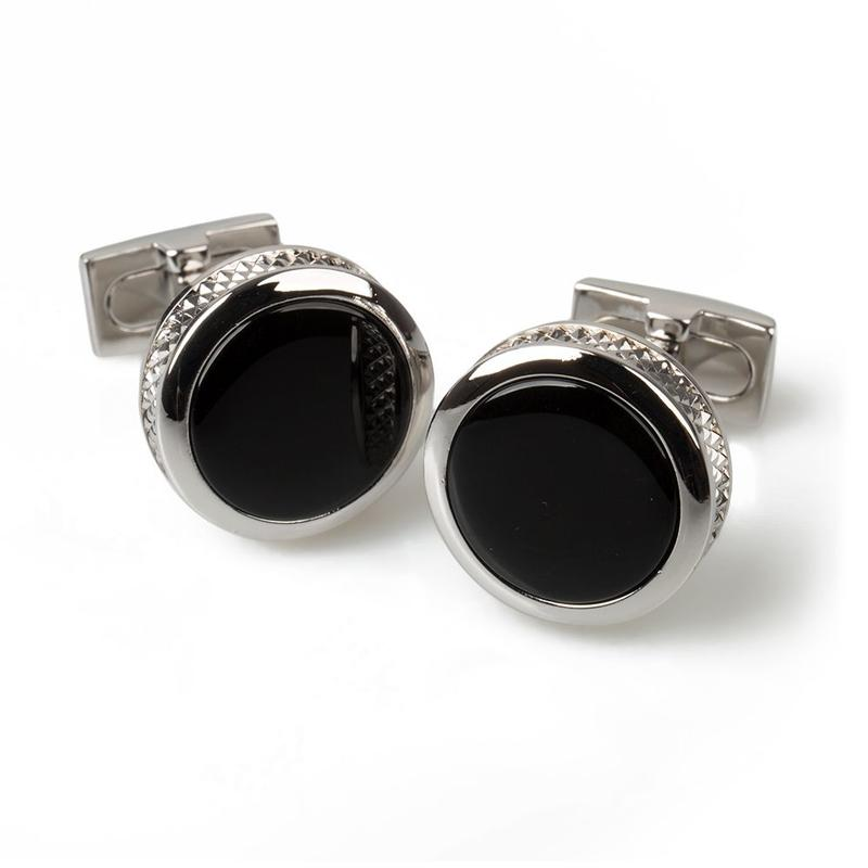Range Rover Cufflinks Black