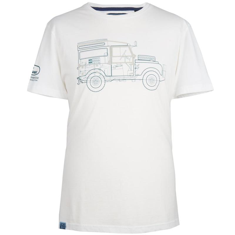 MEN'S DEFENDER GRAPHIC T-SHIRT WHITE
