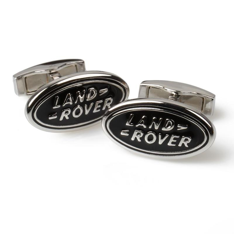 Land Rover Cufflinks Black