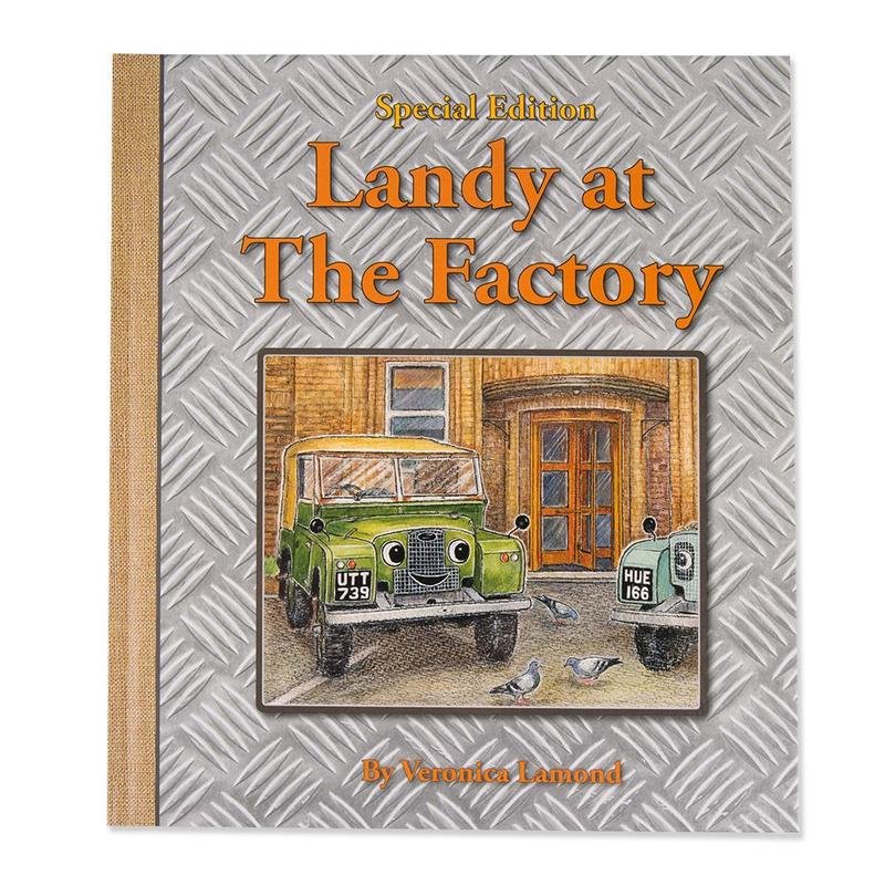 LANDY AT THE FACTORY BOOK