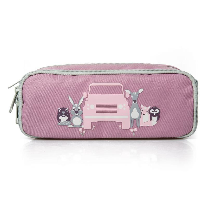 CHILDREN'S PENCIL CASE PURPLE