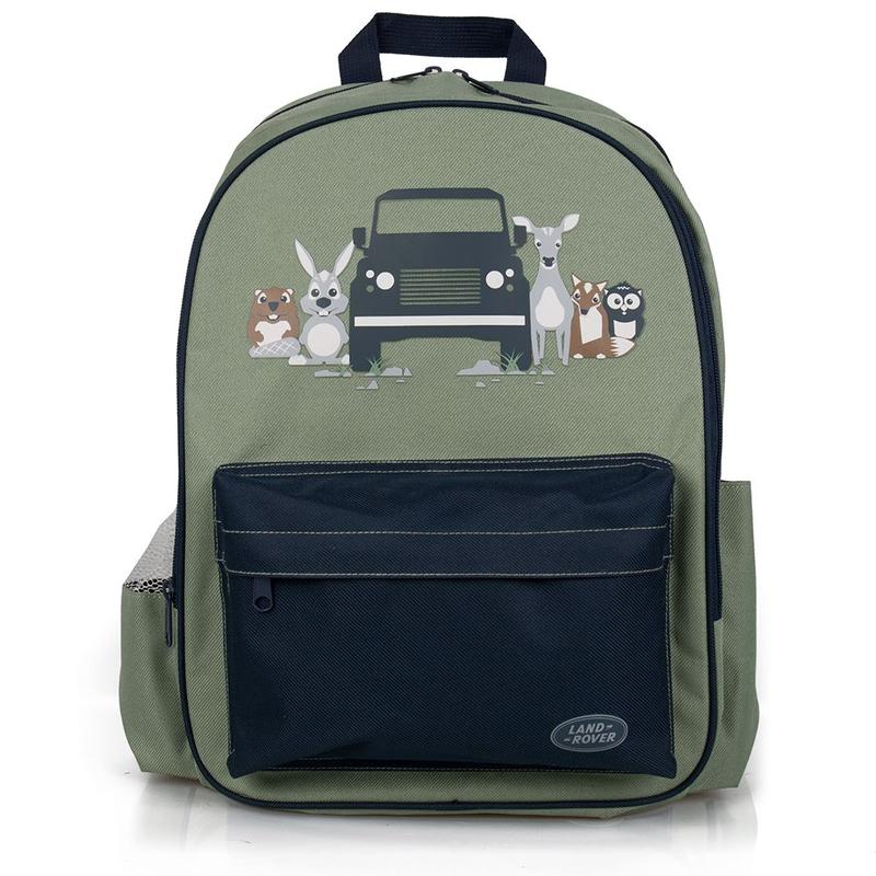 CHILDREN'S BACKPACK GREEN
