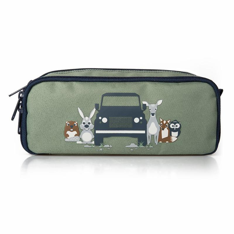 CHILDREN'S PENCIL CASE GREEN