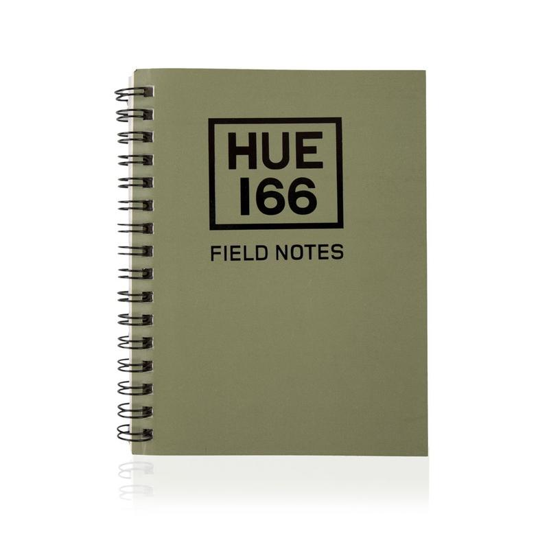 HUE Notebook A6 Green